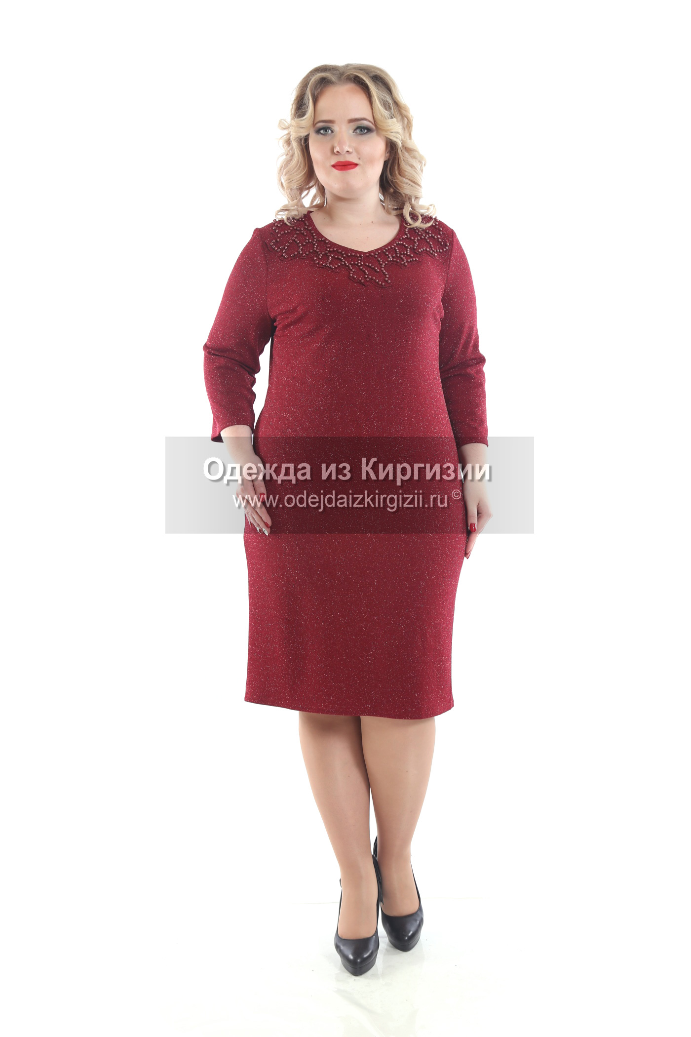 Платье AZA-Бусинка-03