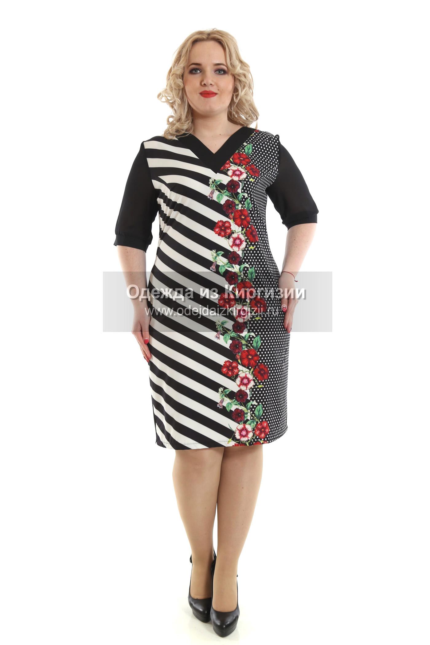 Платье MZO-Мысик полоска-02