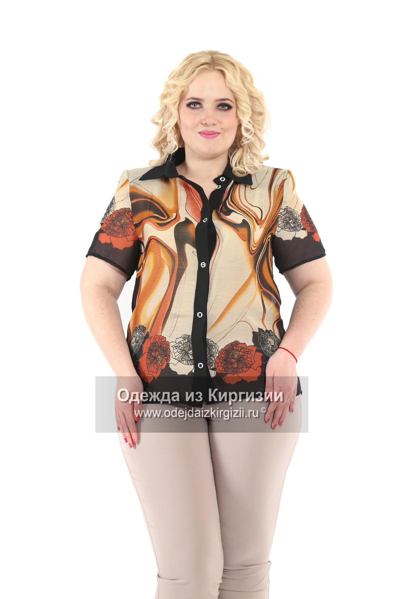 Блузка ROM-Рубашка шифон-02