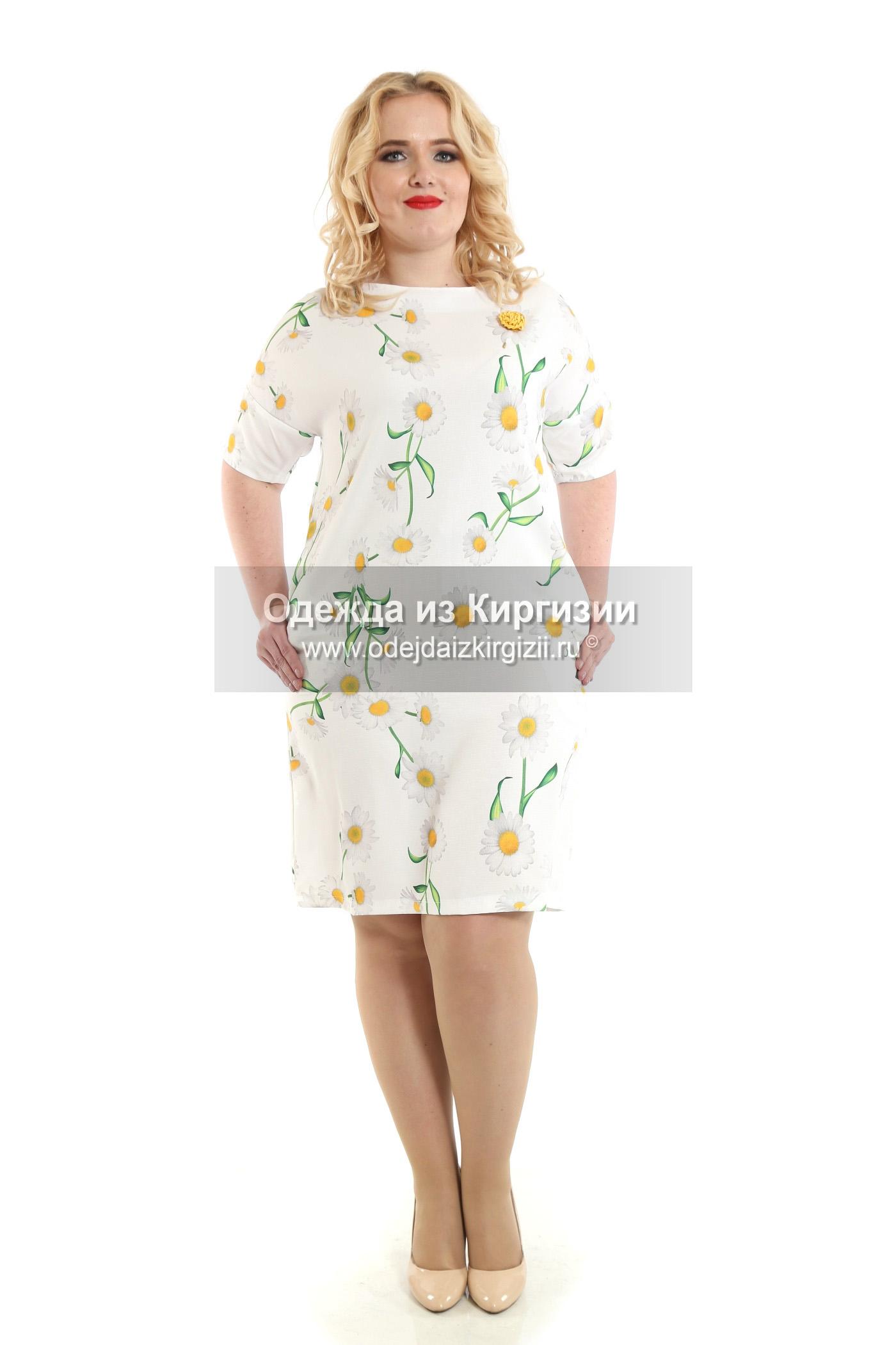 Платье VIN-Лён Ромашка-03