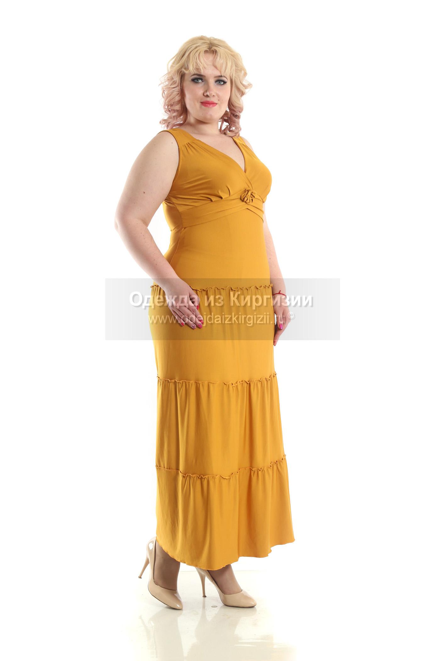Платье VIN-Сарафан волан-02