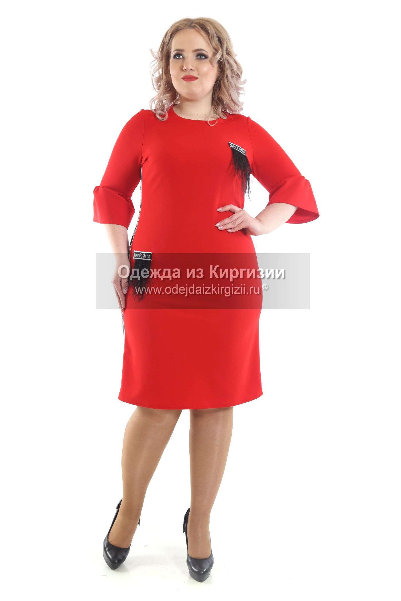 Платье VIT-Перья-01