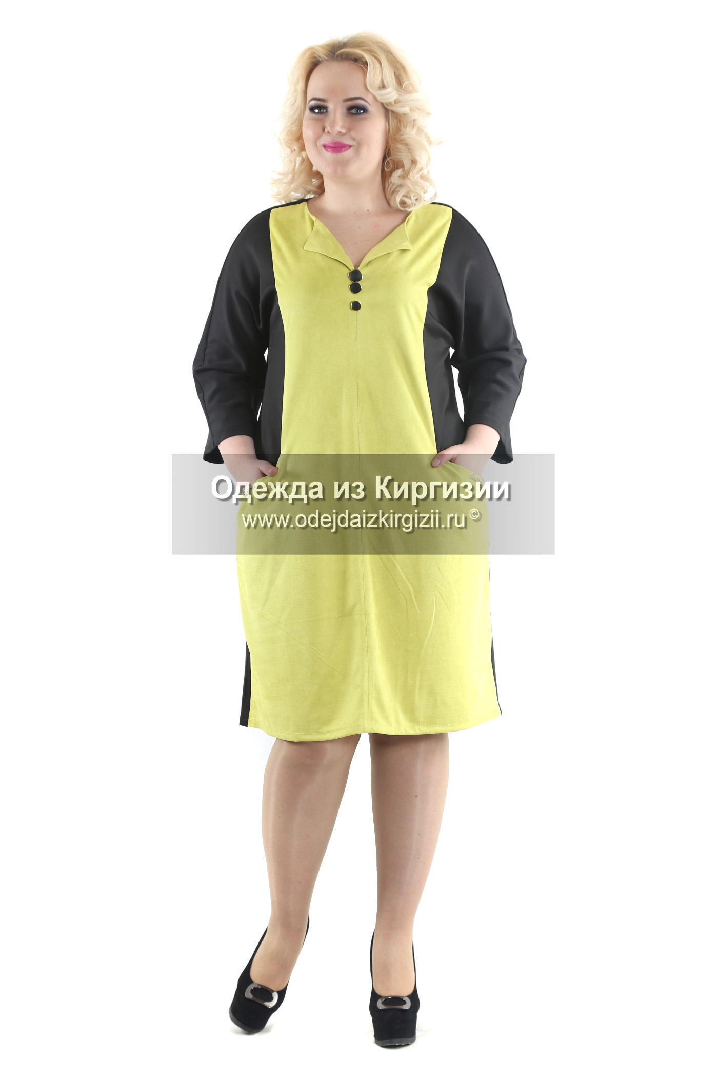 Платье VVL-3 Пуговицы-01