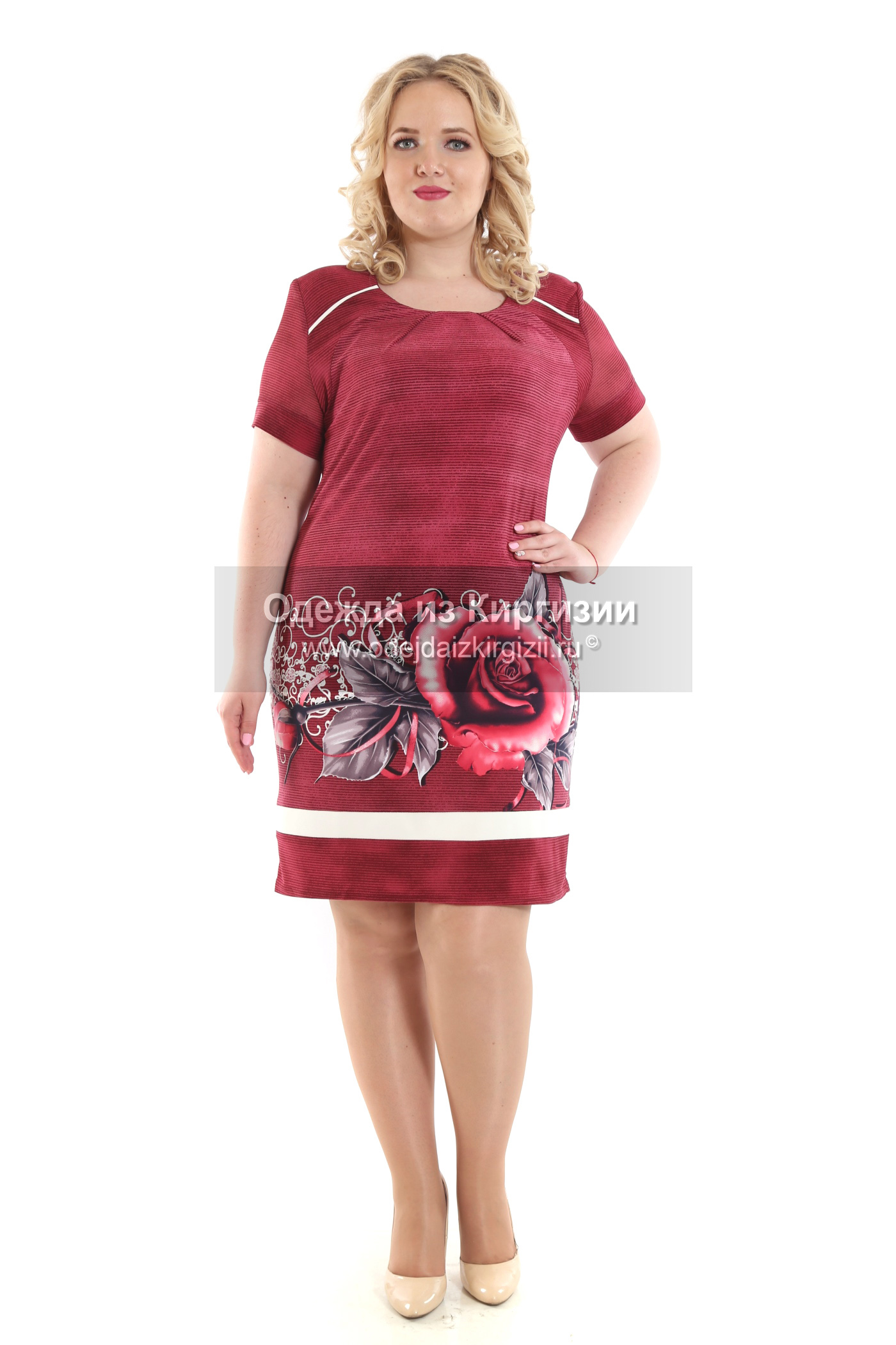 Платье ZLT-Роза-01